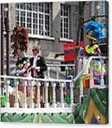 New Orleans - Mardi Gras Parades - 1212144 Acrylic Print