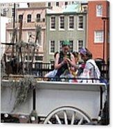 New Orleans - Mardi Gras Parades - 1212145 Acrylic Print