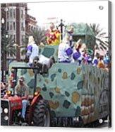 New Orleans - Mardi Gras Parades - 121215 Acrylic Print