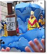 New Orleans - Mardi Gras Parades - 121221 Acrylic Print