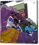 New Orleans - Mardi Gras Parades - 12124 Acrylic Print