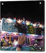 New Orleans - Mardi Gras Parades - 121245 Acrylic Print