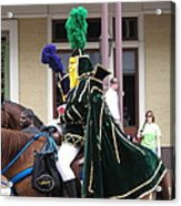 New Orleans - Mardi Gras Parades - 121258 Acrylic Print
