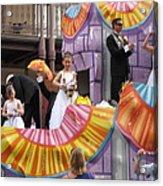 New Orleans - Mardi Gras Parades - 121267 Acrylic Print