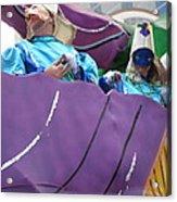New Orleans - Mardi Gras Parades - 12127 Acrylic Print by DC Photographer