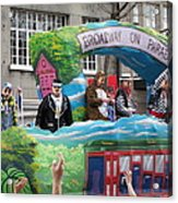 New Orleans - Mardi Gras Parades - 121279 Acrylic Print