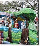 New Orleans - Mardi Gras Parades - 121283 Acrylic Print