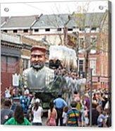 New Orleans - Mardi Gras Parades - 121285 Acrylic Print