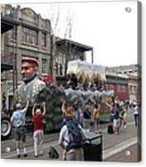 New Orleans - Mardi Gras Parades - 121286 Acrylic Print