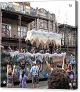 New Orleans - Mardi Gras Parades - 121287 Acrylic Print