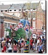 New Orleans - Mardi Gras Parades - 121291 Acrylic Print