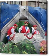 New Orleans - Mardi Gras Parades - 121294 Acrylic Print by DC Photographer