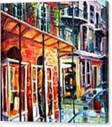 New Orleans Rainy Day Acrylic Print