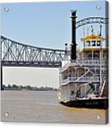 New Orleans River Boat Acrylic Print