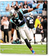 New Orleans Saints V Carolina Panthers Acrylic Print