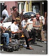 New Orleans - Seen On The Streets - 121234 Acrylic Print