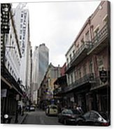 New Orleans - Seen On The Streets - 121235 Acrylic Print