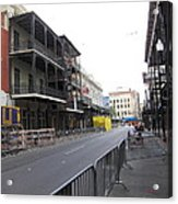 New Orleans - Seen On The Streets - 121237 Acrylic Print
