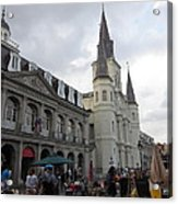 New Orleans - Seen On The Streets - 121242 Acrylic Print