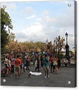 New Orleans - Seen On The Streets - 121246 Acrylic Print