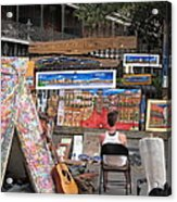 New Orleans - Seen On The Streets - 121249 Acrylic Print