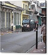 New Orleans - Seen On The Streets - 121252 Acrylic Print