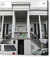 New Orleans - Seen On The Streets - 121253 Acrylic Print