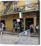New Orleans - Seen On The Streets - 12126 Acrylic Print