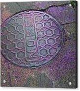 New Orleans Street Glitter  Acrylic Print