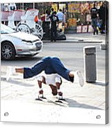 New Orleans - Street Performers - 121211 Acrylic Print