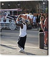 New Orleans - Street Performers - 121217 Acrylic Print