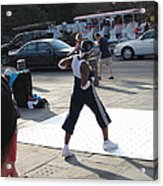 New Orleans - Street Performers - 121219 Acrylic Print