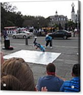 New Orleans - Street Performers - 121221 Acrylic Print
