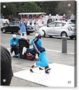 New Orleans - Street Performers - 121223 Acrylic Print