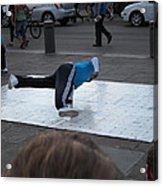 New Orleans - Street Performers - 121226 Acrylic Print
