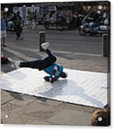 New Orleans - Street Performers - 121230 Acrylic Print