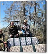New Orleans - Swamp Boat Ride - 1212103 Acrylic Print