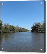 New Orleans - Swamp Boat Ride - 1212154 Acrylic Print