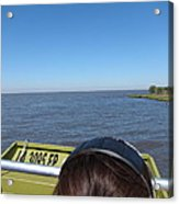 New Orleans - Swamp Boat Ride - 1212162 Acrylic Print