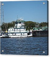 New Orleans - Swamp Boat Ride - 121229 Acrylic Print