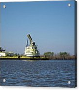 New Orleans - Swamp Boat Ride - 121230 Acrylic Print