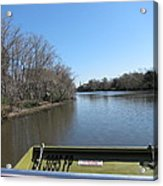 New Orleans - Swamp Boat Ride - 121270 Acrylic Print