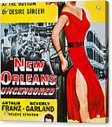 New Orleans Uncensored, Us Poster, Top Acrylic Print