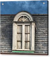 New Orleans Window Acrylic Print by Brenda Bryant