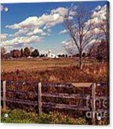 New Paltz Farm Acrylic Print