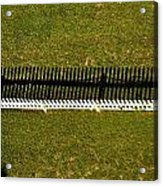 New Perspective Of The Picket Fence Acrylic Print