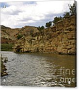 New Photographic Art Print For Sale Banks Of The Rio Grande New Mexico Acrylic Print