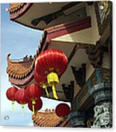 New Photographic Art Print For Sale Downtown Chinatown Acrylic Print