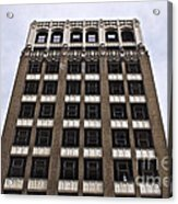 Vacant Downtown Building Los Angeles 3 Acrylic Print