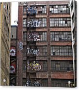New Photographic Art Print For Sale Downtown Los Angeles 5 Acrylic Print